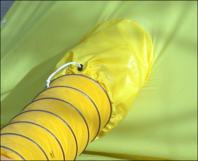 Built In Ventilation Hose Sleeve