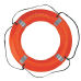 "STEARNS I030 REFLECTIVE TYPE IV 30"" RING BUOY"